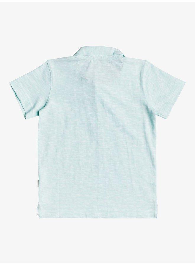 Boy's 2-7 Everyday Sun Cruise S/S Polo Shirt - Beach Glass