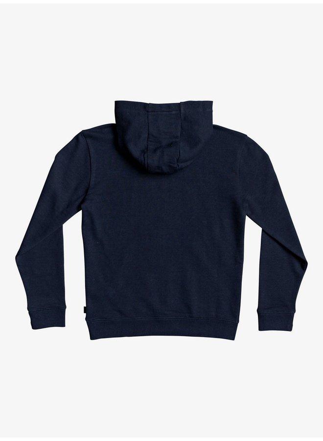 Boy's 8-16 Kickflip Zone Zip-Up Hoodie - Navy