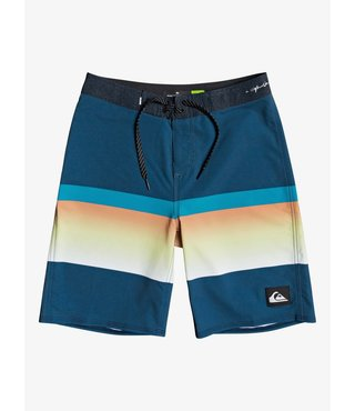 "Boy's 8-16 Highline Slab 18"" Board Shorts - Maj Blue"