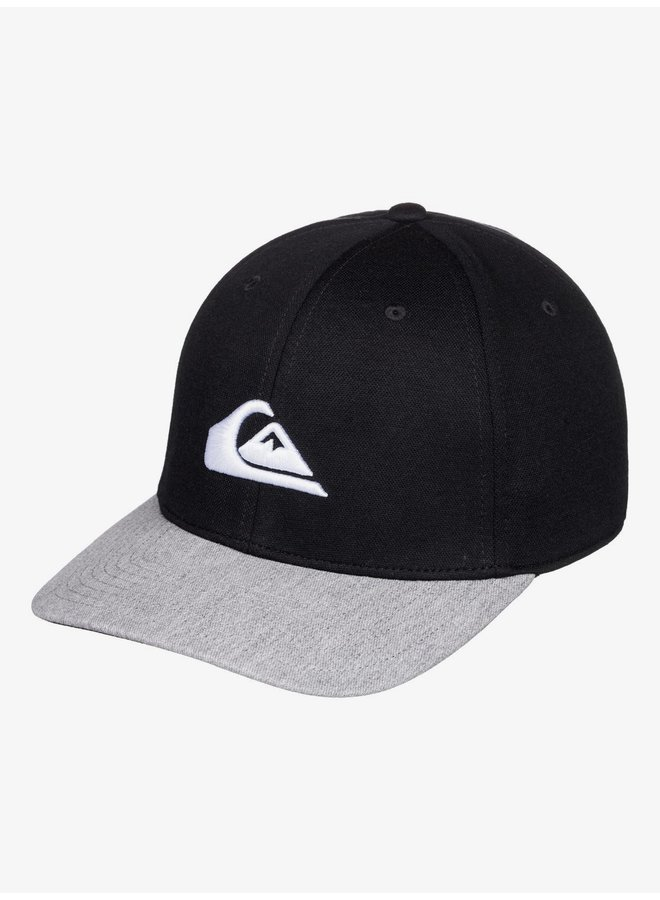 Boy's 8-16 Pinpoint Snapback Cap - Black