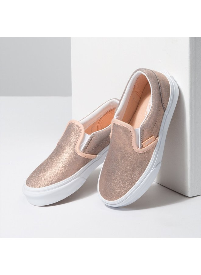 Vans Kids Classic Slip-On Shoes - Rose Gold