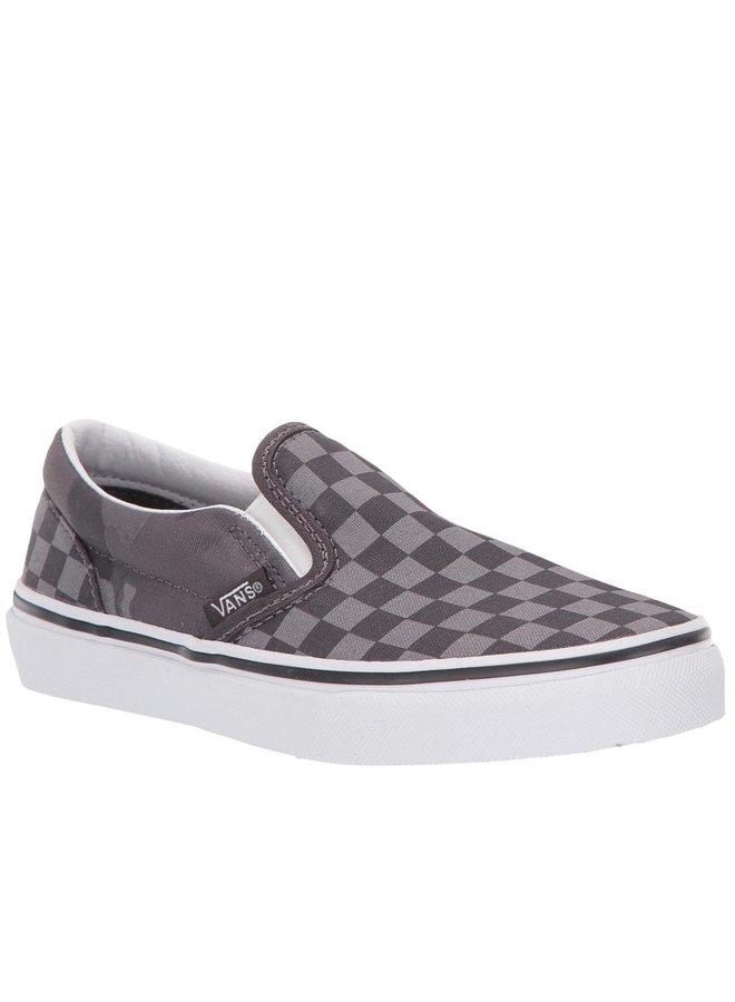 Vans Kids Classic Slip-On Shoes - Tonal Checker