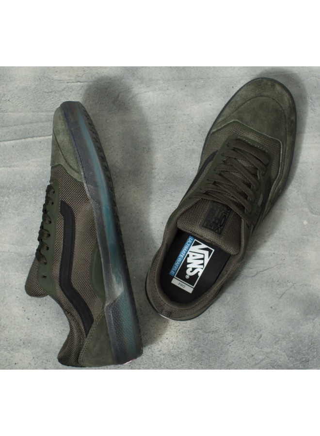 Vans Ave Pro Men's Skate Shoes - Rainy Day/Forest