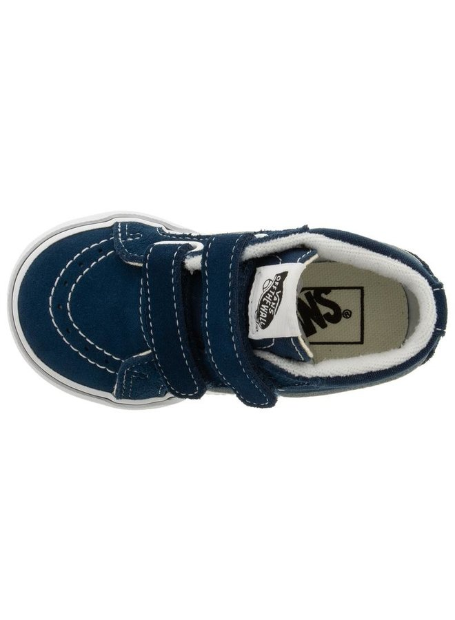 Toddler's Sk8-Mid Reissue Velcro Shoe - Gibralter Sea
