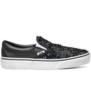 Classic Slip On Shoes - Flip Sequin