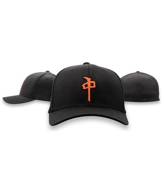 RDS Flexfit OG Puffy - Blk/Orange