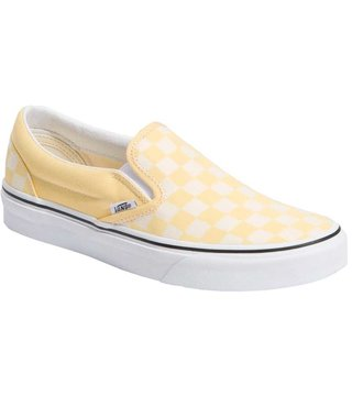 Classic Slip On Shoes - Golden Haze Check