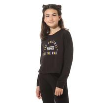 Girls Carro Sel Long Sleeve T-Shirt - Black