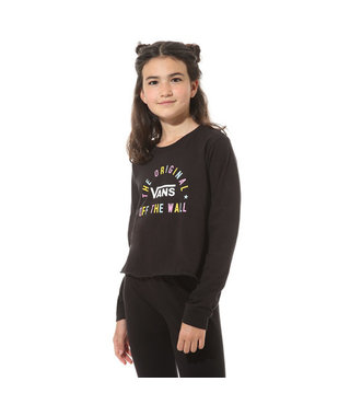 Girls Carro Sel Long Sleeve T-Shirt - Black