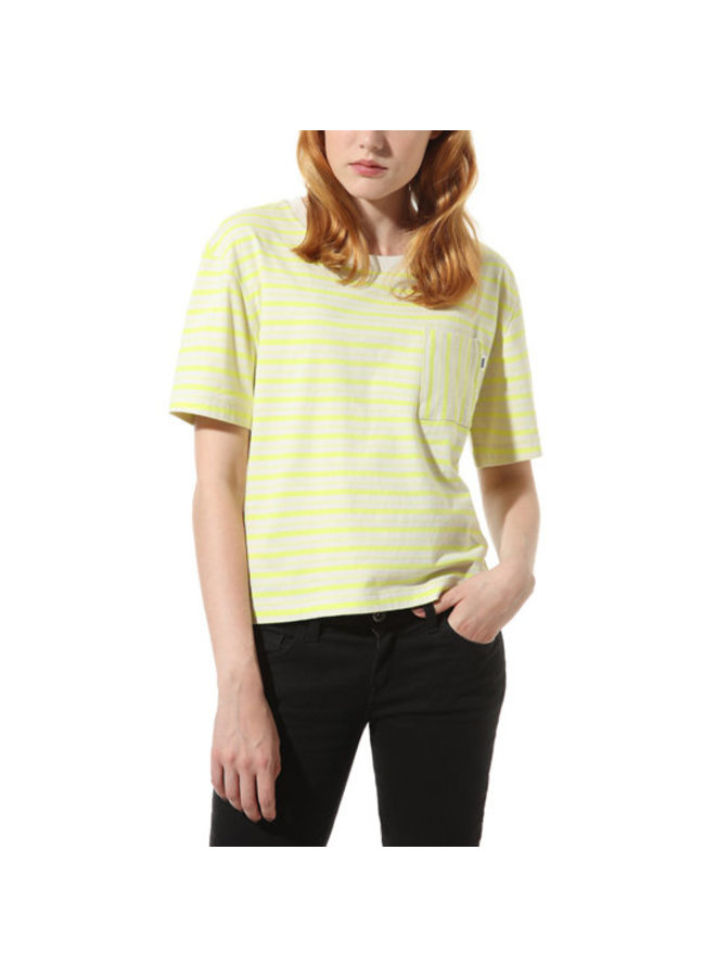 Mini Check T-Shirt - Lemon Tonic