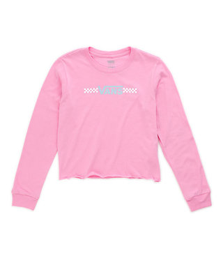 Girls Funnier Times Long Sleeve - Fuchsia