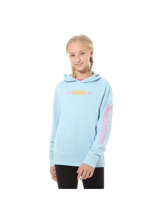 Girls Funnier Times Hoodie - Dream Blue