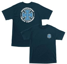 Indy T-Shirt Repeat Cross - Harbor Blue