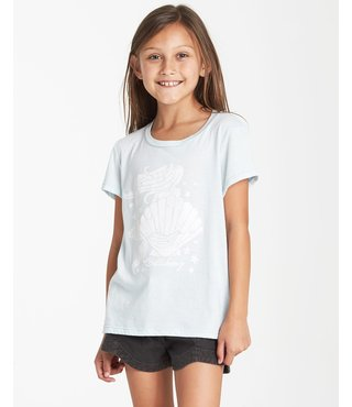 Girls' Mermaid Power T-Shirt - Skylight