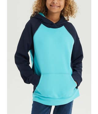 Girls' Crown Bonded Hoodie - Blue/Curacao