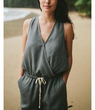 Women's Blakely Romper - Castor Grey