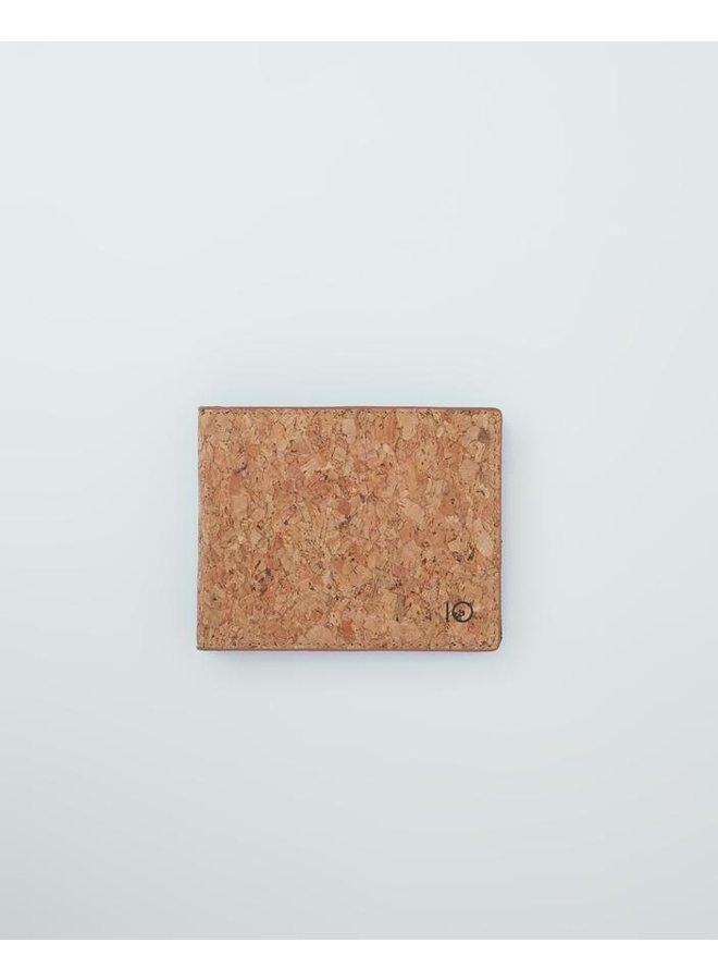 Baron Cork Bi-Fold Wallet - Cork Fabric