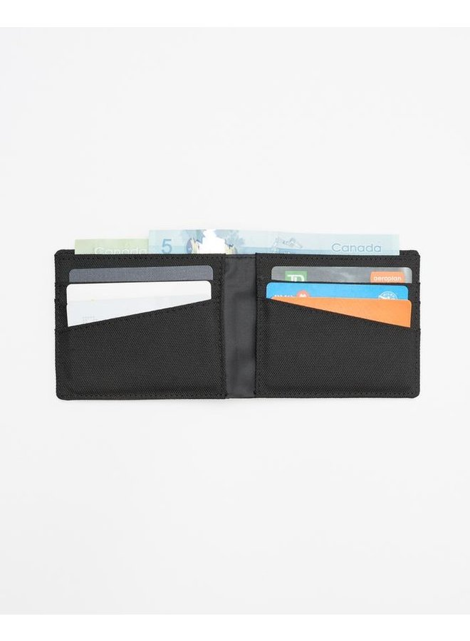 Baron Bi-Fold Wallet - Mtrt Blk