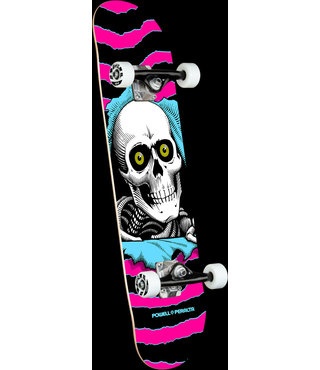 """7.75"""" Ripper One Off Pink Complete Skateboard"""