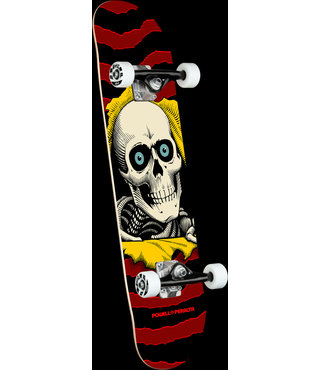 "7.5"" Ripper One Off Burgandy Complete Skateboard"