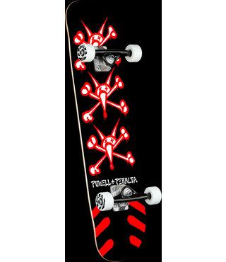 "8.25"" Vato Rats Black Complete Skateboard"