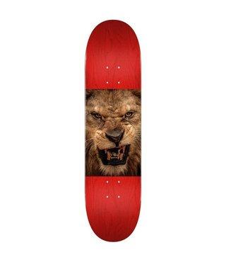 """8.5"""" Chevron Lion Eyes Skateboard Deck"""