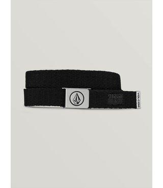 Boys Circle Web Belt - Stoney Black