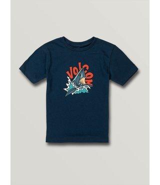 Boys Sharkish Short Sleeve Tee - Blue