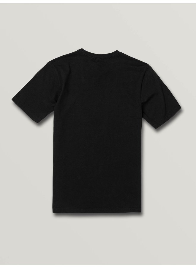 Boys Eliptical Short Sleeve Tee - Black