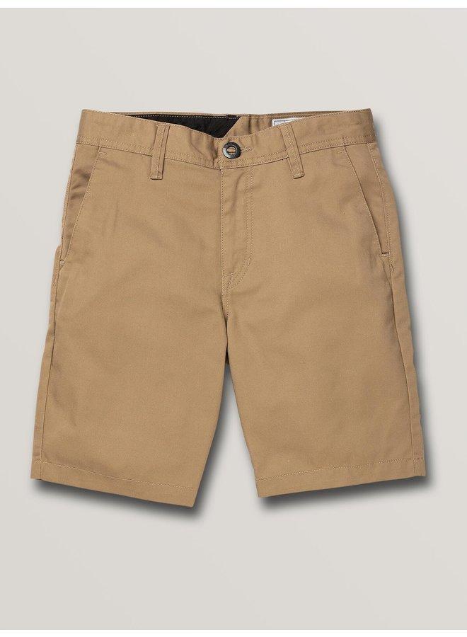 Boys Frickin Chino Short - Khaki