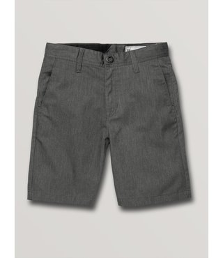 Boys Frickin Chino Short - Charcoal Hthr