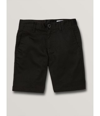 Boys Frickin Chino Short - Black