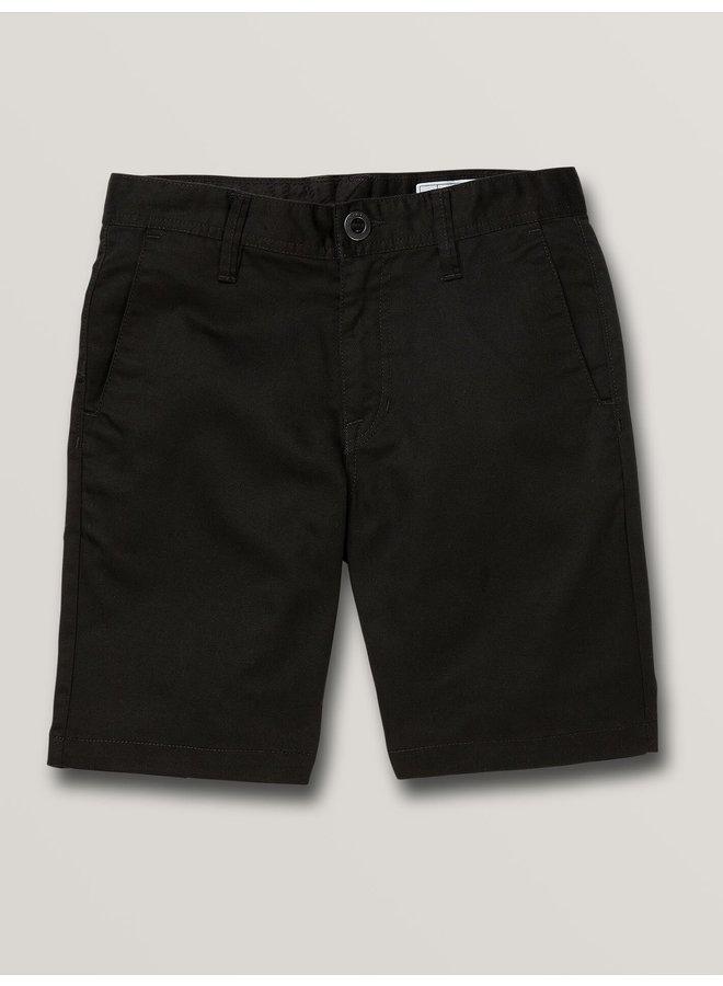 Boys Frickin Chino Short - Black