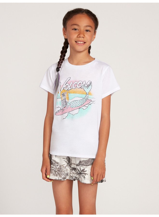 Big Girls Last Party Tee - White