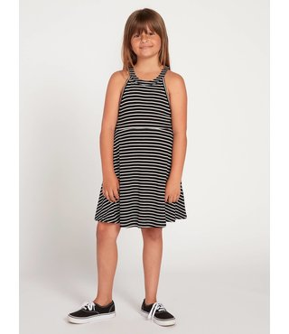 Big Girls Dayze Dayz Dress - Blk Wht