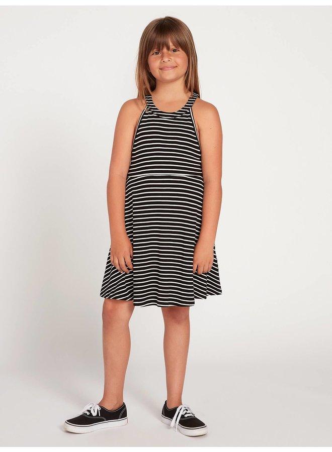Big Girls Dayze Dayz Dress - Blk Wht