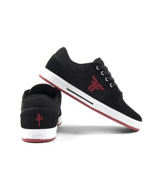Fallen x RDS Patriot Skate Shoes - Blk/Red