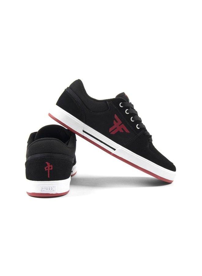Fallen x RDS Patriot Skate Shoes - Blk/Red