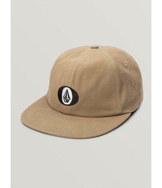 Stone O Strapback Hat - Beige