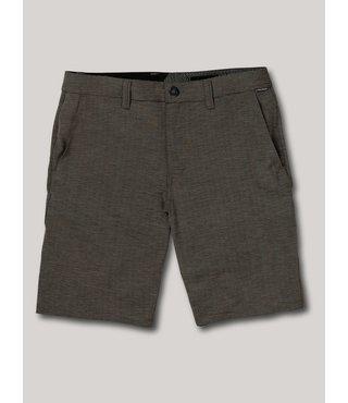 Frickin Surf N' Turf Slub Hybrid Shorts - Blk