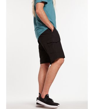 Surf N' Turf Dry Cargo Hybrid Shorts - Black