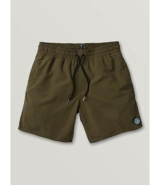 Lido Solid Trunks - Military