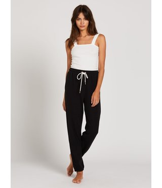Lived In Lounge Fleece Pant - Blk