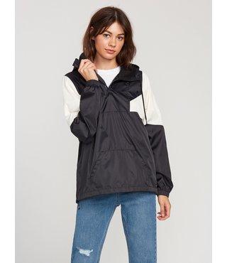 Wind Stoned Jacket - Black White