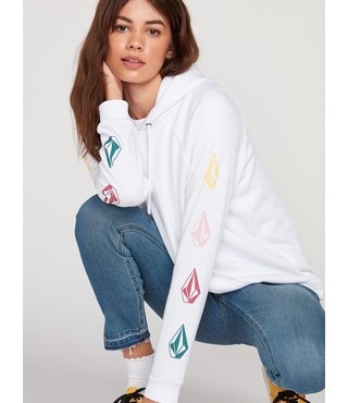 Deadly Stones Hoodie - White