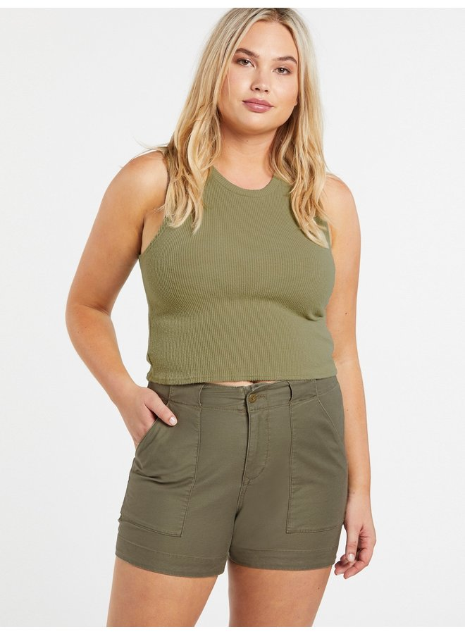 Army Whaler Short - Army Green Combo