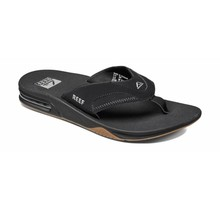 Reef Fanning Men's Sandals - Black/Silver