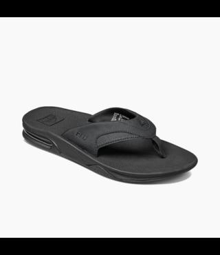 Fanning Sandals - All Black