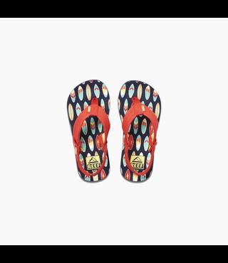 Little Ahi Sandals - Red Surfer
