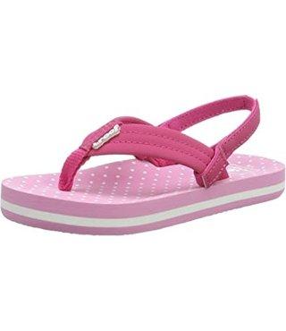Little Ahi Sandals - Polka Dot
